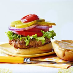 Spicy Chicken-Fried Hamburgers - Rachael Ray In Season Cooking Joy, Dutch Oven Cooking, Dutch Oven Recipes, Cooking Stuff, Burger Recipes, Beef Recipes, Cooking Recipes, Chicken Recipes, Healthy Recipes