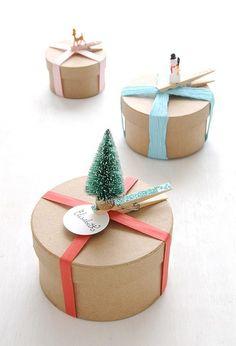 Gave kerst-verpakking