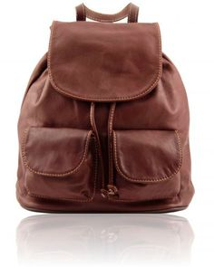 SEOUL TL141508 Leather backpack Small size