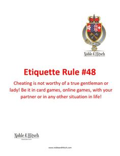 Etiquette is not only for Kings and Queens!⠀ Practical Tips on Etiquette from the Butler in Hong Kong. #NobleAndHitsch #EveryDayEtiquette #Etiquette #ButlerHongKong #HK #HKig #ButlerForHire #LuxuryLifeStyle #HKButler #manners #goodmanners #lovemylife #gentleman #lady #cheating
