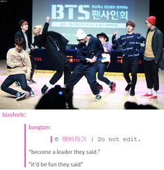 Namjoon looks so UTTERLY done with them...... XD