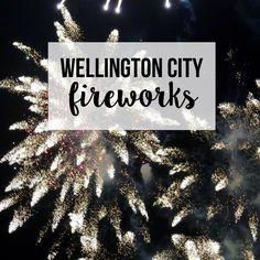 Wellington City - Fireworks