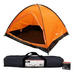 6fb00729999 This incredible 4 person dome tent from Milestone is great for camping and  festivals. We include tent pegs and hi-vis guy ropes to secure your tent to  the ...