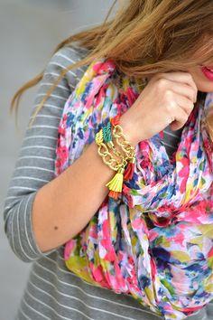 STRIPES & FLOWERS | Mi aventura con la moda