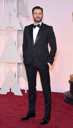 Chris Evans at the 2015 Oscars