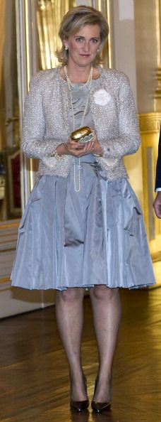 Princess Astrid of Belgium attends the autumn concert at the Royal... Nachrichtenfoto 162130269 | Getty Images