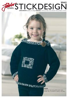 Easy-to-knit children's sweater.