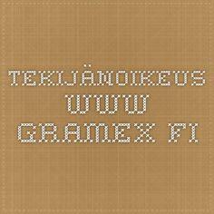 Tekijänoikeus - www.gramex.fi