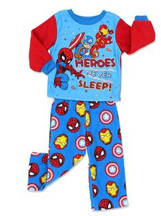 687356b272 Your little one can get comfy and cozy in these awesome Super Hero  Adventures pajamas set! This pajama set includes a long sleeve pajama top  and matching ...