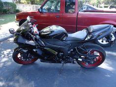 2008 Kawasaki NINJA ZX-6R Sportbike , Black/Red, 10,000 miles for sale in Kill Devil Hills, NC