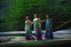 Rusalka's sisters, the Water Nymphs (Boston Ballet II) miss their love struck sister