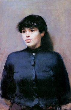 Christian Krogh Portrait of Jossa