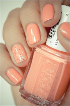pretty spring color  Minus the glitter