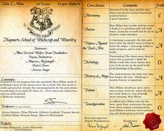 Hogwarts reportcard PSD by =Lost-in-Hogwarts on deviantART