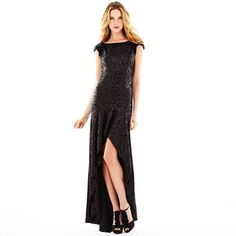 Pearl by Georgina Chapman of Marchesa at JC Penney! High-Low Sequin Dress - $140
