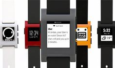 ¡Actualidad! ¿Te gustan los relojes inteligentes de Pebble? #pebble #relojes