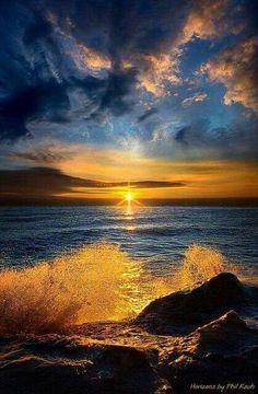 #Sea #Sunset