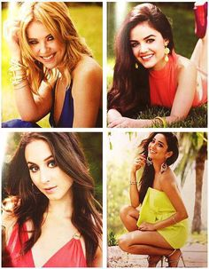 Pretty Little Liars: Ashley Benson, Lucy Hale, Troian Bellisario, and Shay Mitchell