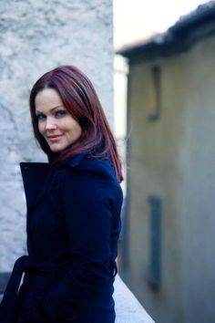 Great hair color and love the blue coat