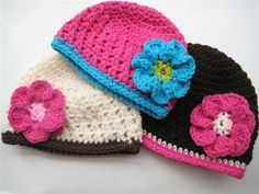 free children's crochet hat patterns | Crochet Pattern Newborn to Adult Beanie - Media - Crochet Me