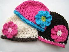 free children's crochet hat patterns | Crochet Pattern Newborn to Adult Beanie - Media - Crochet Me