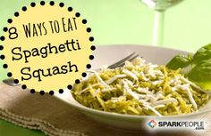 Spaghetti squash is a great way to get your kids to eat vegetables. Try these 8 swaps and find the one you like the best!  #smartswap #recipe #squash