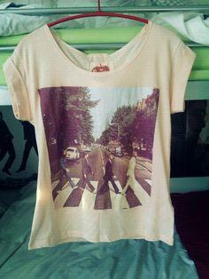 "The Beatles ""Abbey Road"" Album Cover T-Shirt"