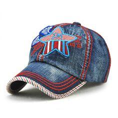 2017 High Quality Outdoor Spring Summer Kids Baseball Cap Cowboy Girl Boy Sun Hat Snapback Star Children's Cap #Affiliate