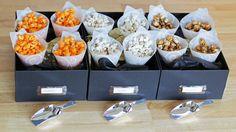 How-to: DIY Popcorn Bar | HandsOccupied.com