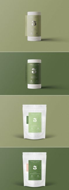 Packaging & Branding Three Leaves Take A Step On The Elevated Side Tea Packaging, Brand Packaging, Skin Logo, Eco Brand, Restaurant Menu Design, Identity, Web Design, Graphic Design, Photography Packaging
