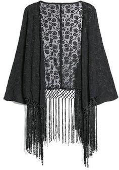 MANGO Floral embroidery kimono on shopstyle.co.uk
