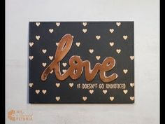 MISTI:  Simple Card with Concord & 9th
