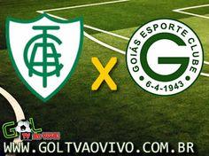 Assistir América-MG x Goiás ao vivo 16h00 Campeonato Brasileiro Série B