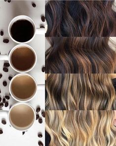 Bayalage coffee colors