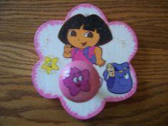 Dora the Explorer Hook FREE personalization by HeavenlyDesigns1, $8.00