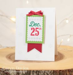 Simon Says Stamp … December Card Kit inspiration!