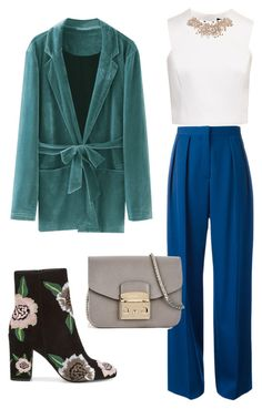 """Без названия #13"" by karina-bulgakova on Polyvore featuring мода, STELLA McCARTNEY, Ted Baker, Rebecca Minkoff и Furla"
