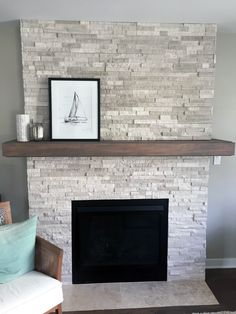 10 Kind Simple Ideas: Living Room Remodel With Fireplace Tvs living room remodel on a budget layout.Living Room Remodel Before And After Butcher Blocks living room remodel before and after butcher blocks.Living Room Remodel With Fireplace Joanna Gaines. Fireplace Bookcase, Fireplace Redo, Fireplace Remodel, Living Room With Fireplace, Fireplace Design, Fireplace Mantels, Living Room Kitchen, Home Living Room, Mantles