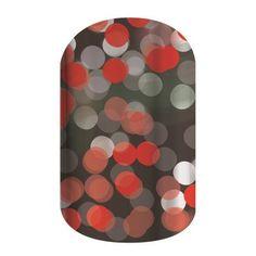 Christmas Tree Nail Design Wraps | ca $7