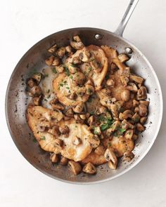 Chicken with Mushrooms Recipe