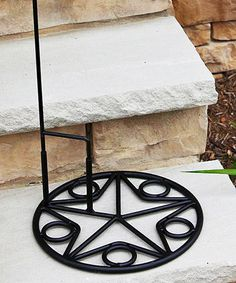 Look at this #zulilyfind! Garden Flag Base #zulilyfinds