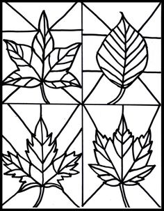 Make it easy crafts: Kid's Craft- stained glass leaves free printable crafts for kids for teens to make ideas crafts crafts Kids Crafts, Fall Crafts For Kids, Easy Crafts, Art For Kids, Kids Diy, Decor Crafts, Art Project For Kids, Craft Kids, Autumn Crafts