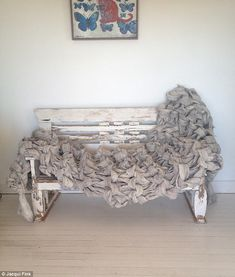 Hand-crafting stunning blankets, throws, home furnishings and blankets, Jacqui prefers to create unique pieces of art rather than succumb to mass production