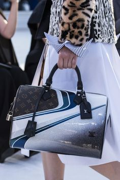 Aa bag from the Louis Vuitton Cruise 2018 Fashion Show by Nicolas Ghesquière, ETOILE LUXURY VINATGE