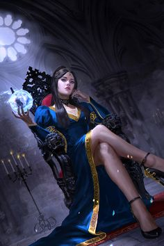 """Shirley - Dungeon Deposed Compilation Cover - """"Book Cover for the trilogy by William D. Arand"""" - ART by Caterina Kalymniou - Freelance Fantasy Girl, Chica Fantasy, Fantasy Art Women, Fantasy Warrior, Dark Fantasy Art, Fantasy Artwork, Fantasy Character Design, Character Inspiration, Character Art"""