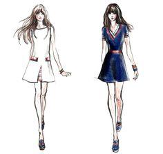 Coleção cápsula de vestidos   Zooey Deschanel & Tommy Hilfiger
