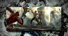 Henry Cavill Superman Vs Justice League Concept Art