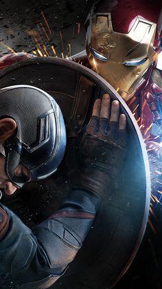 """Wallpaper for """"Captain America: Civil War"""" , Wallpaper for """"Captain America: Civil War"""" , – Marvel Marvel Dc Comics, Marvel Avengers, Marvel Art, Marvel Heroes, Marvel Movies, Avengers Memes, Comic Movies, Comics Spiderman, Marvel Live"""