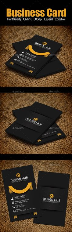 Vertical Ribbon Business Card Template - Corporate Business Card Template PSD. Download here: http://graphicriver.net/item/vertical-ribbon-business-card-template/12465088?s_rank=1773&ref=yinkira