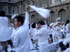 Diner en Blanc, Paris 2011